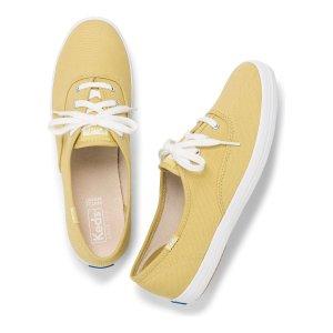 Keds柠檬色休闲鞋