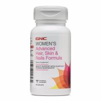 GNC 女士综合维生素,针对头发、皮肤和指甲保养配方 60粒