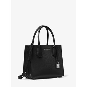 Michael KorsMercer Pebbled Leather Accordion Crossbody Bag