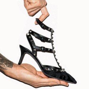 低定价+7折起 封面网纱$706Valentino 夏日特卖 Vlogo运动鞋$481 新款链条包$1270
