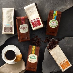 50% off or BOGO free + Extra 10% offALL 12 oz. World Market Brand Coffee