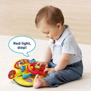 $10.47(原价$14.99)史低价:VTech 宝宝汽车方向盘益智玩具