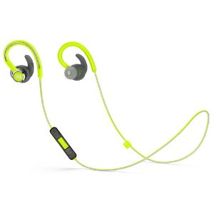 JBL Reflect Contour 2 Wireless Sport Earbuds with Three-Button Remote and Microphone