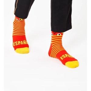 Happy Socks西班牙队 袜子