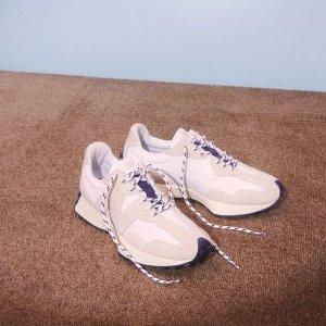 New Balance仅剩46.5码327 燕麦色运动鞋