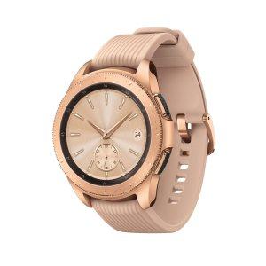 $279.99 (原价$329.99)Samsung Galaxy Smartwatch 42mm 智能手表 玫瑰金