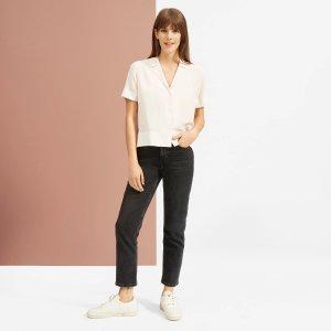 EverlaneThe Clean Silk Short-Sleeve Notch Shirt