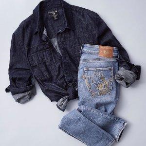 低至5折+满$200享额外8.5折True Religion 网络周大促延长 时尚牛仔裤热卖
