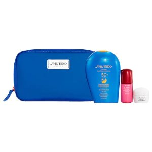 Shiseido价值$84新款蓝胖子防晒套装