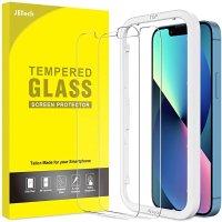 iPhone 13/Pro 钢化玻璃膜 2张 带贴膜神器