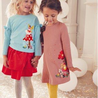 8折 其余新品9折 可免费退货Mini Boden 儿童连衣裙、连体衣、长裤热卖