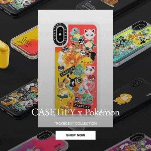 £20起!最萌的联名款英国也能买到啦CASETiFY x Pokémon 联名Iphone手机壳、AirPods盒上市!