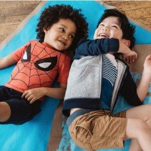5折包邮限今天:全场童装促销 春季新款全线上市