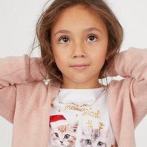 H&M 儿童服饰全场特卖 给宝宝穿戴整齐去过节