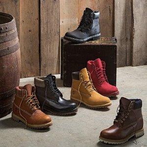 低至5折Timberland 精选男女靴,童鞋特卖,加国秋冬好伙伴