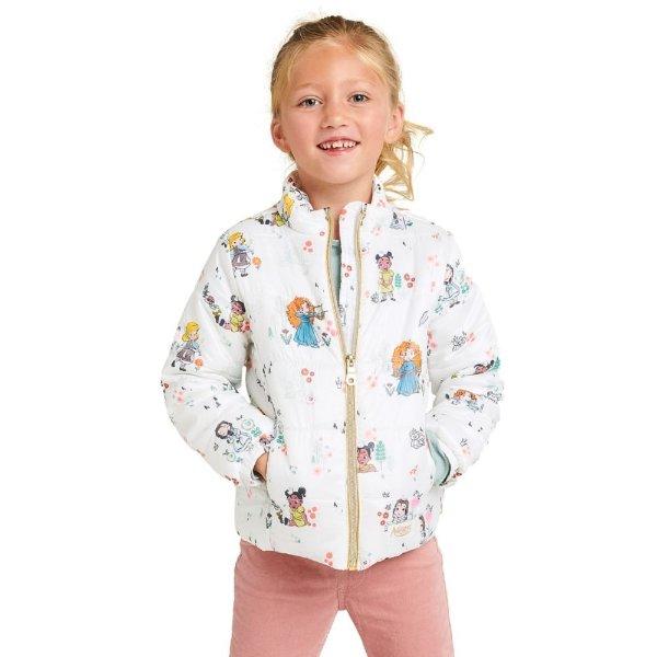 女童轻质保暖外套