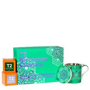 T2 tea$75/2盒(原价$100/2盒)茶包*2+马克杯套装 T2 APAC | T2 TeaAU