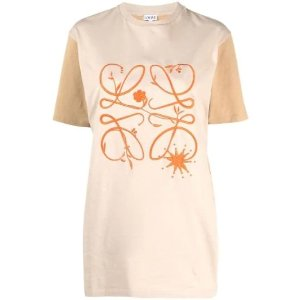 Loeweembroidered-logo T恤