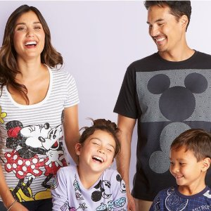 Buy One Get One 50% OffGraphic T-shirts for Kids & Adults @ shopDisney