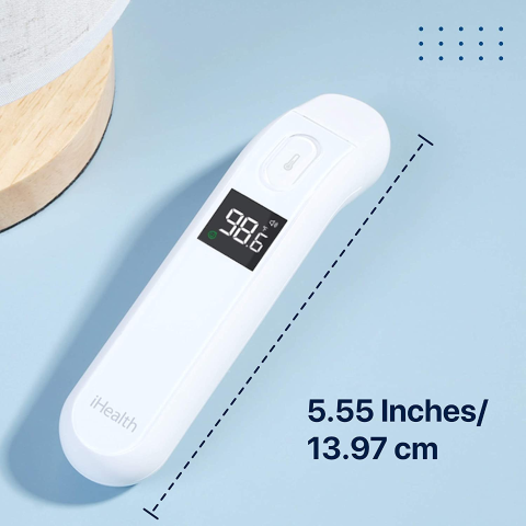 iHealth Touchless Digital Infrared Forehead Thermometer