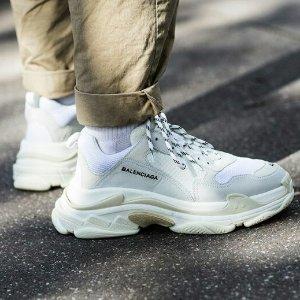 变相6折起 $700+收TripleS封面款Balenciaga 潮鞋定价优势 Triple S老爹鞋、大火袜子靴多色选