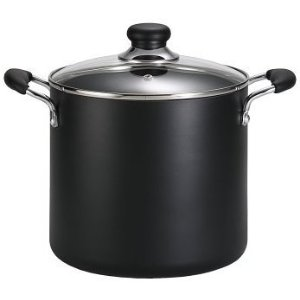 Amazon T-fal B36262 Specialty Total Nonstick Dishwasher Safe Oven Safe Stockpot Cookware