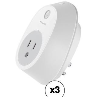 $29.99 (原价$50.99) 普通家电轻松变智能TP-Link HS100 Kasa智能Wi-Fi插头 3个装