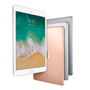 $299 抄底價, 支持Apple PencilApple iPad 9.7吋 Wi-Fi 2018款 128GB 三色可選