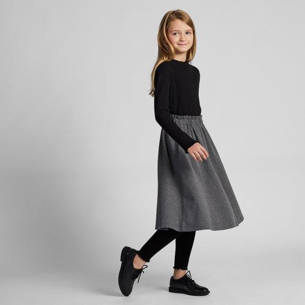 花边设计 女童打底裤