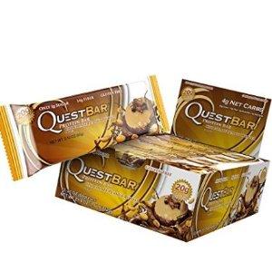 7.5折优惠 超多好评Quest Nutrition 蛋白能量棒好价收