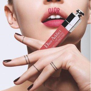 变相低至7.8折Dior美妆护肤产品最高立减$550热卖 收刺青唇釉