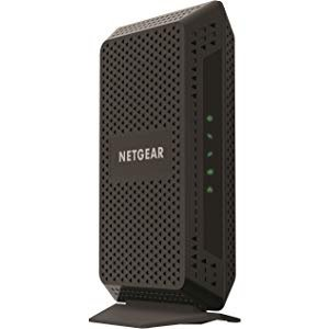 $89.99NETGEAR Cable Modem (32x8) DOCSIS 3.0 @ Amazon.com