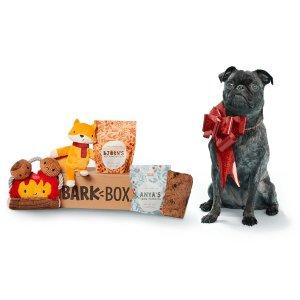 首月半价 低至$11Barkbox 狗狗神秘订阅礼盒 为你家汪星人准备的专属礼物盒