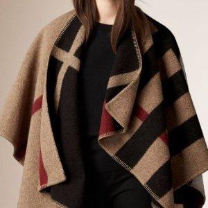 低至6折Burberry 丝巾,披肩等热卖