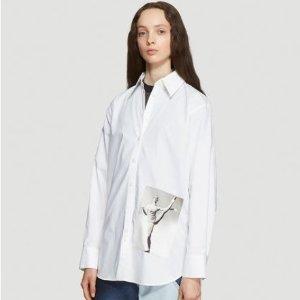 低至3折+额外9折 收修身T恤$54Acne Studio经典返场 简约风休闲裤$99,牛仔外套$209