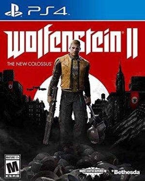 $19.99超高分第一人称射击游戏《德军总部2:新巨像》 PS4 实体版