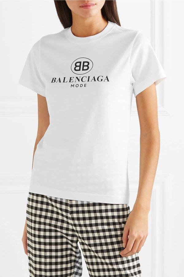 Logo-print T恤