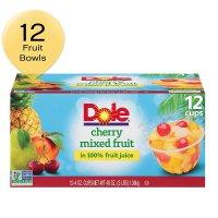 Dole 菠萝樱桃味混合水果杯 4oz. 12杯装