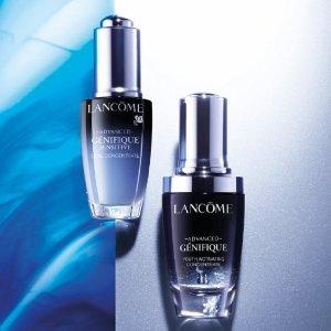变相低至6折+最高送10件套上新:Lancome 明星套装有货 收小黑瓶套装、粉水套装