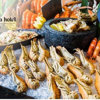 $119(原价$170) 畅享丰盛海鲜Shangri La Hotel 悉尼海鲜双人自助餐团购