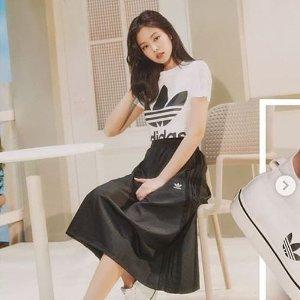 智妮同款Adidas 经典三叶草短袖