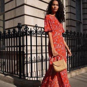 低至3折+额外9折上新:TopShop 折扣区 精选美衣美裙热卖 夏季美起来