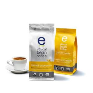 $7.43(原价$12.99) 加拿大有机品牌ETHICAL BEAN 伦理咖啡豆 中度烘培黑咖啡 227g