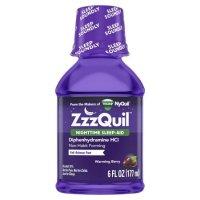 Vicks ZzzQuil 夜间睡眠助剂液 浆果味 6盎司