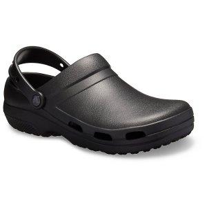 Crocs码全 男女同款黑色洞洞鞋