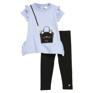 13d593442 Kate Spade New Yorkcat handbag tunic & leggings set (Baby)