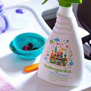 7.9折 $4.55(原价$5.79)BabyGanics 甘尼克宝贝餐椅玩具清洁喷雾 天然温和无伤害