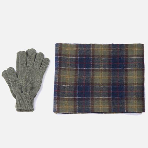 围巾手套组合