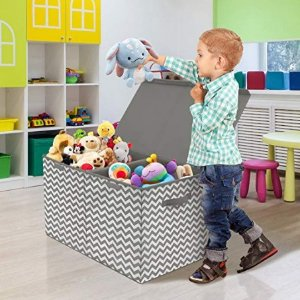 低至$10.99多品牌儿童玩具收纳盒特卖,实用又可爱