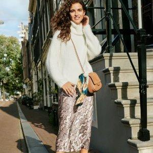 春日时髦不能等 撩人美衣已上线H&M 官网上新 解锁早春高街穿搭关键词